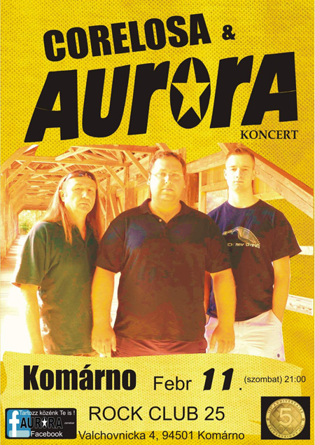 Auróra - Corelosa - Rock Club 25.