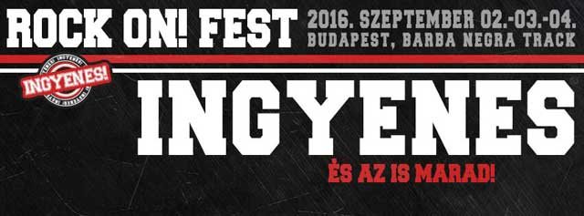 A Hammer Concerts bemutatja: Rock On! Fest 2016