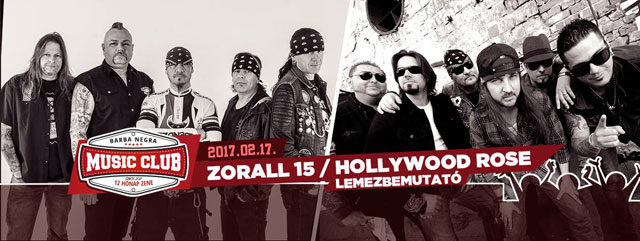 Zorall, Hollywood Rose
