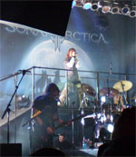 Sonata Arctica, Pagan's Mind, Vanishing Point; November 14, Budapest, PECS